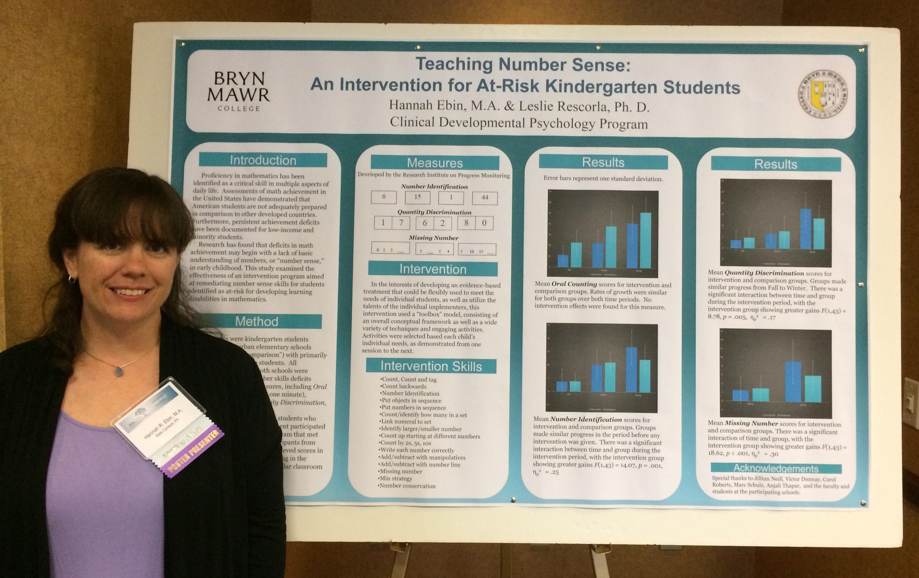 Hannah Ebin Awarded Pennsylvania Psychological Association ...